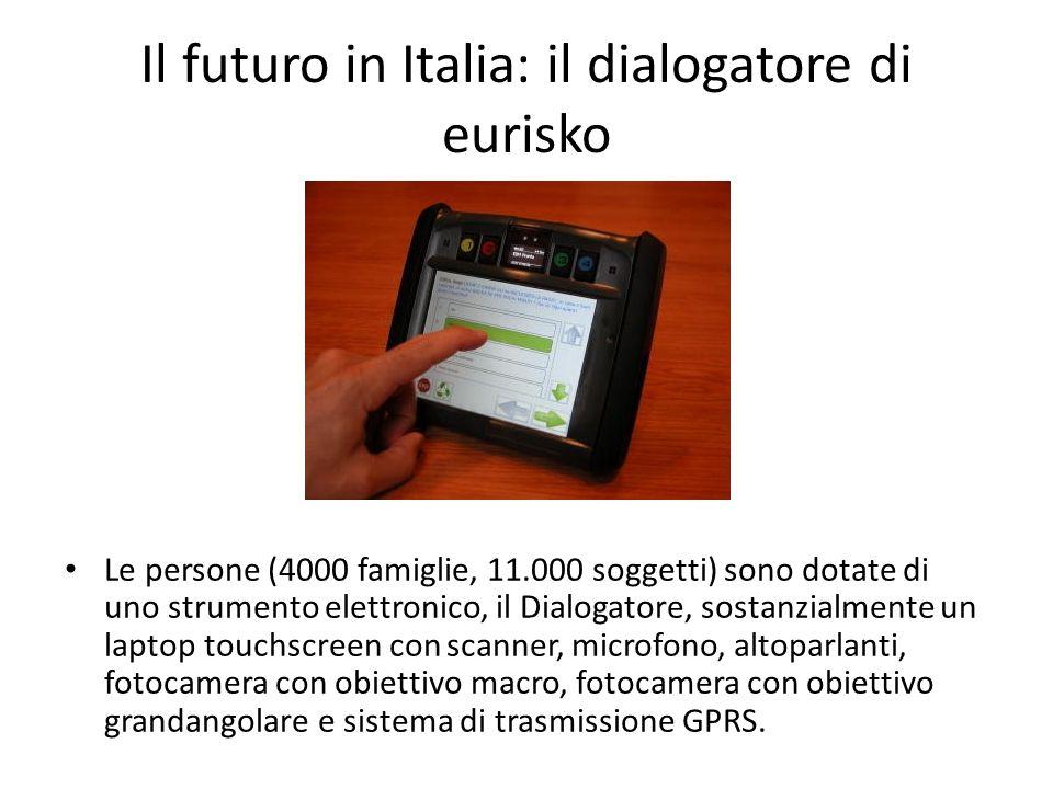 Il futuro in Italia: il dialogatore di eurisko