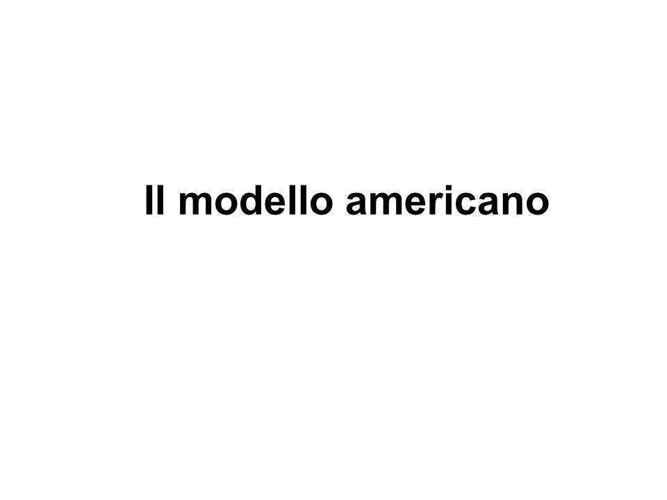 Il modello americano