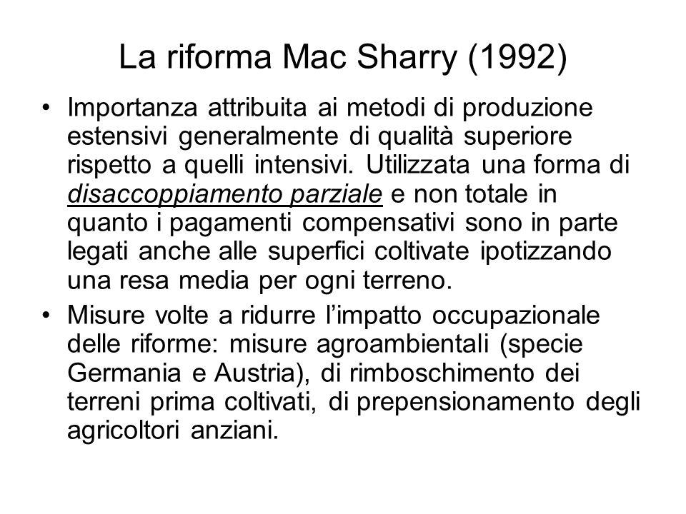 La riforma Mac Sharry (1992)