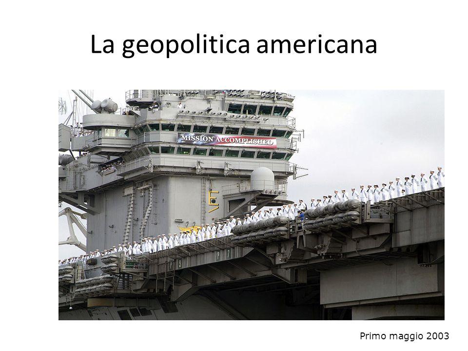 La geopolitica americana