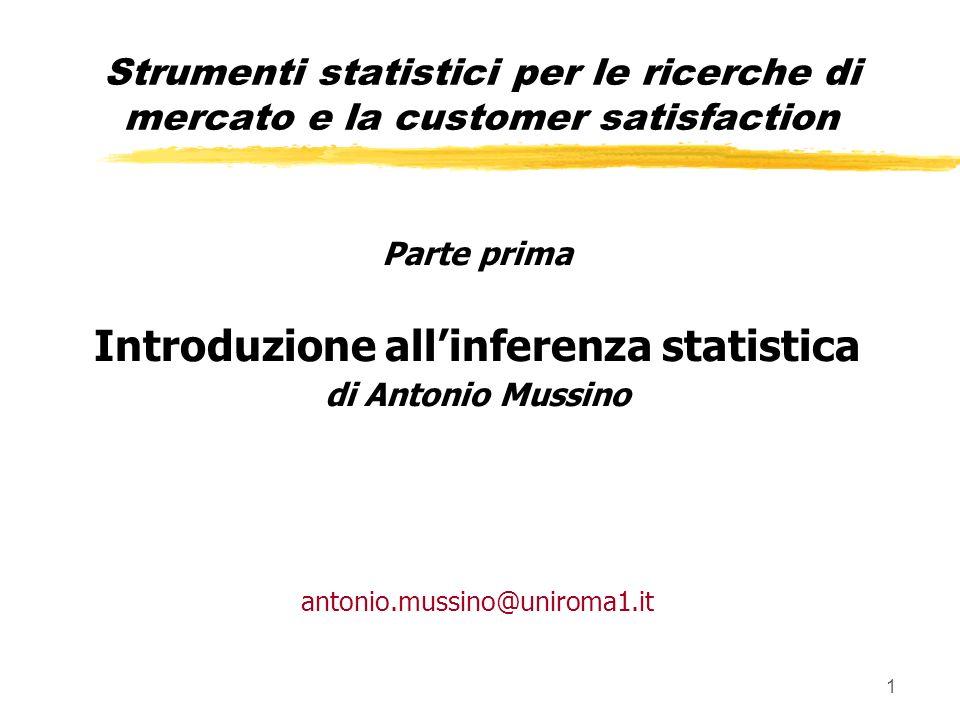 Introduzione all'inferenza statistica