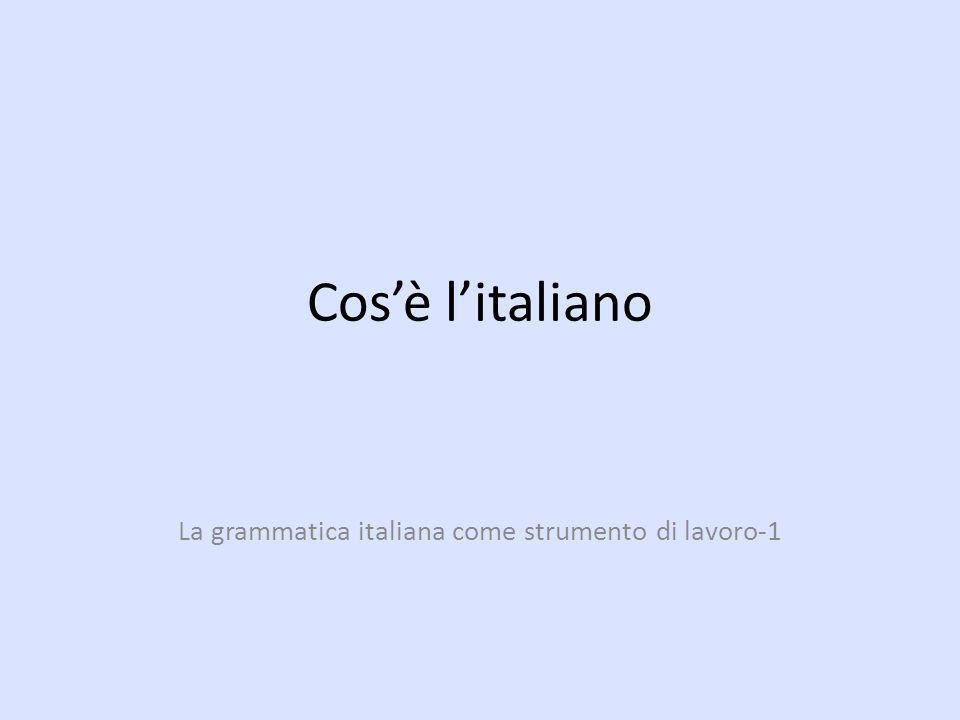 La grammatica italiana come strumento di lavoro-1