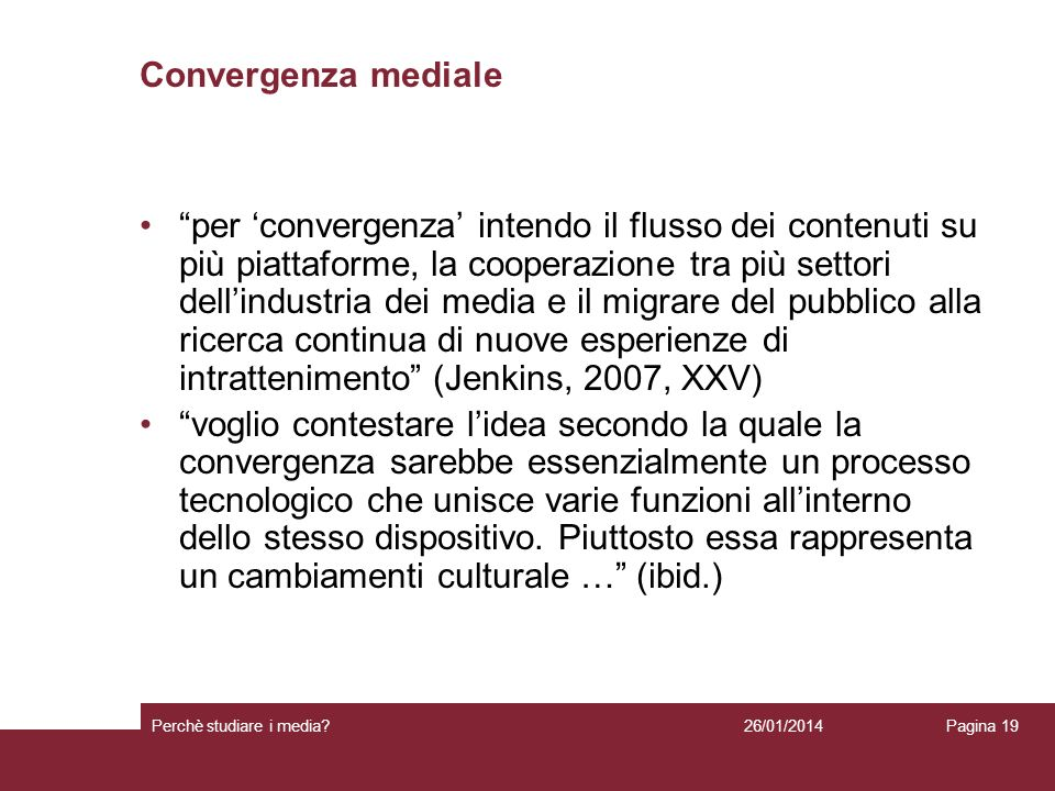 Convergenza mediale