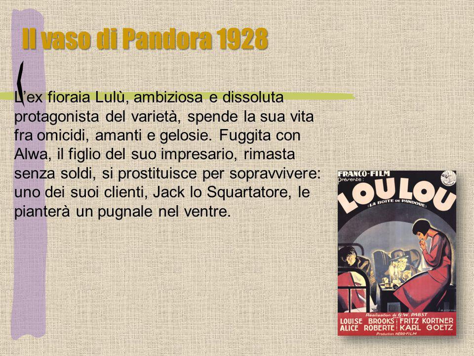 Il vaso di Pandora 1928