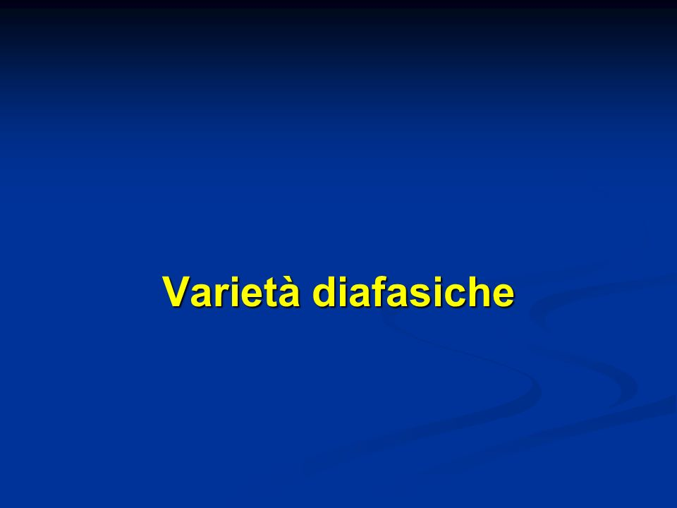 Varietà diafasiche