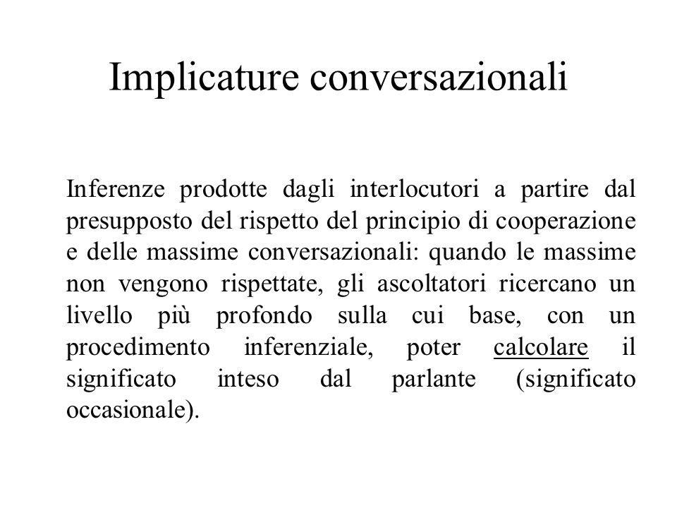Implicature conversazionali