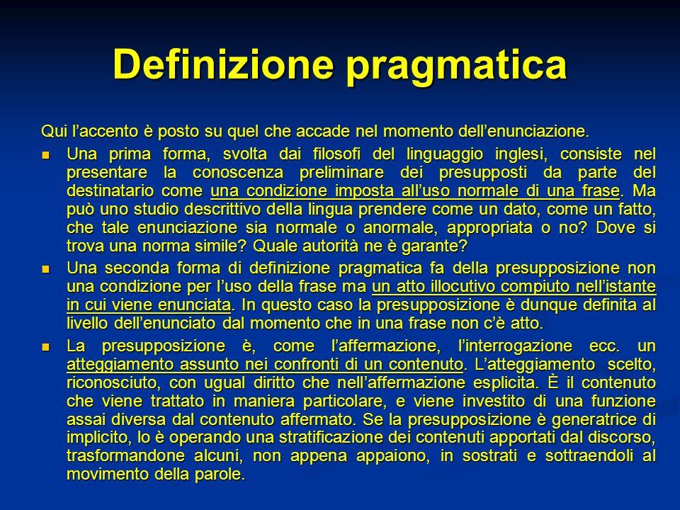 Definizione pragmatica
