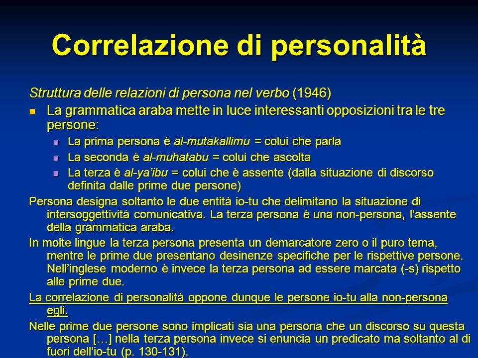 Correlazione di personalità