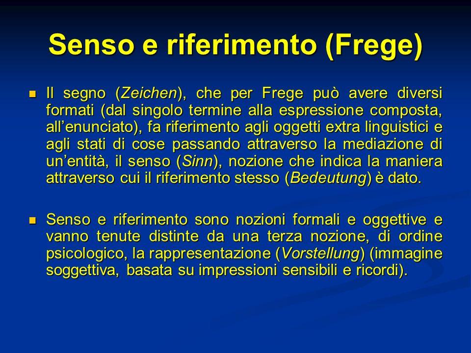 Senso e riferimento (Frege)