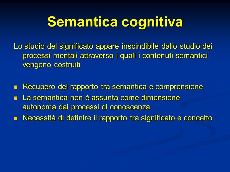 Semantica cognitiva