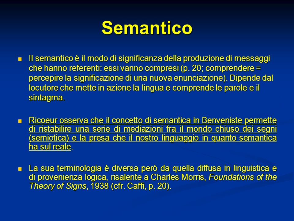 Semantico