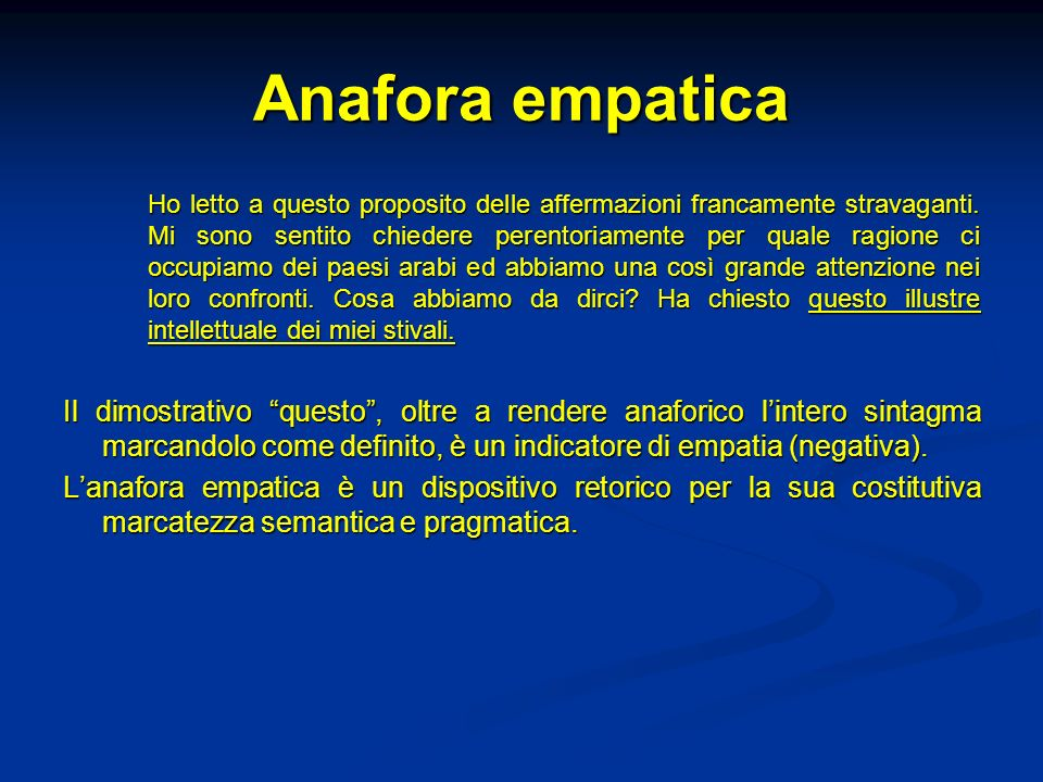 Anafora empatica