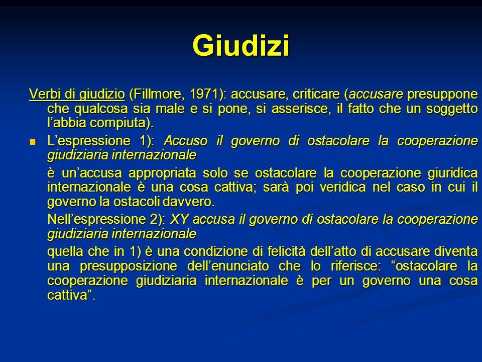 Giudizi