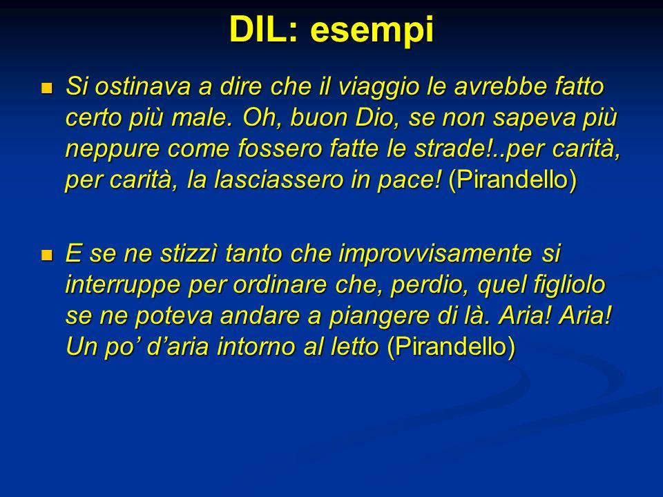 DIL: esempi