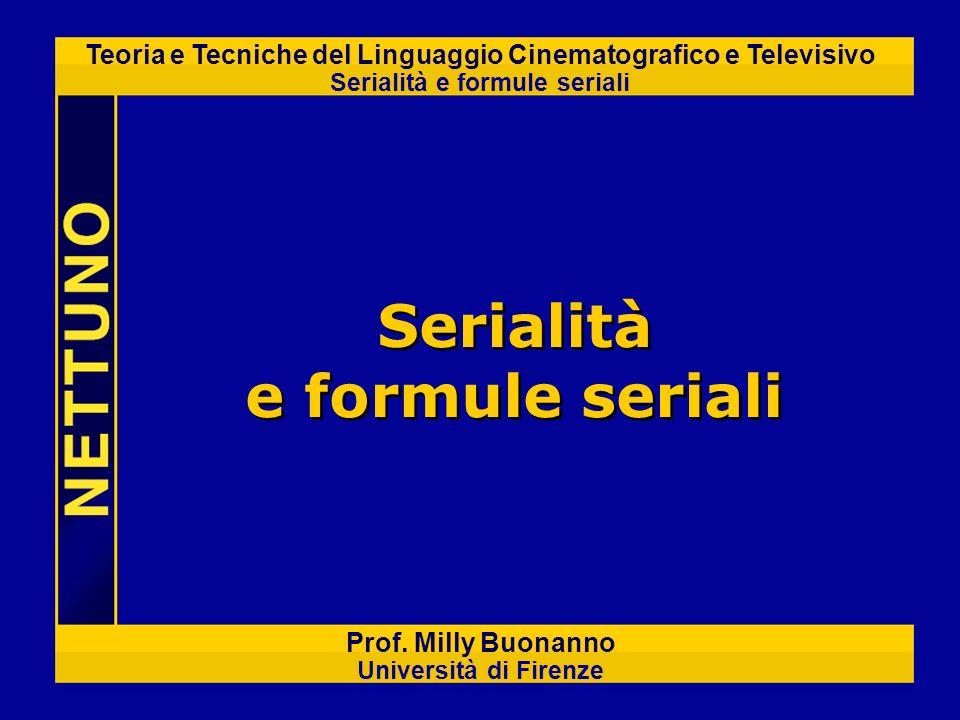 Serialità e formule seriali