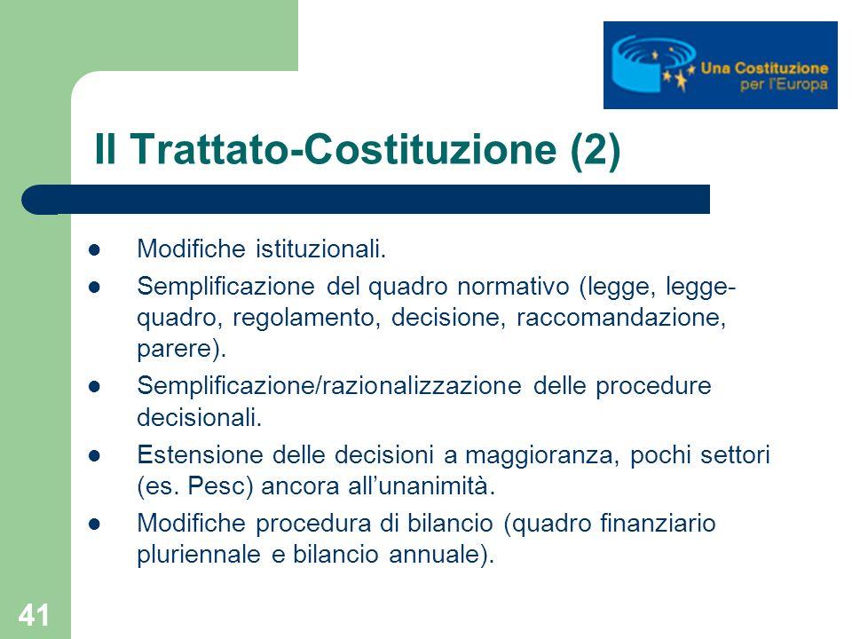 Il Trattato-Costituzione (2)