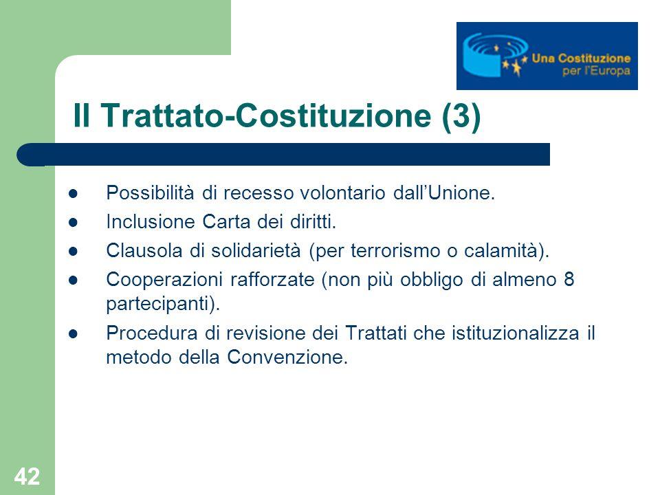 Il Trattato-Costituzione (3)