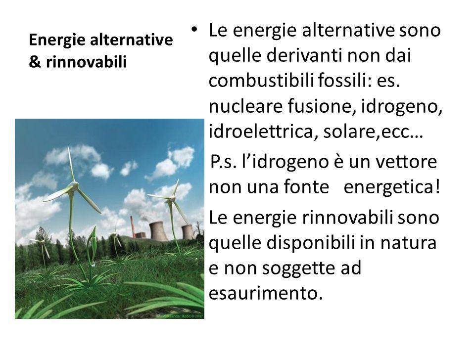 Energie alternative & rinnovabili