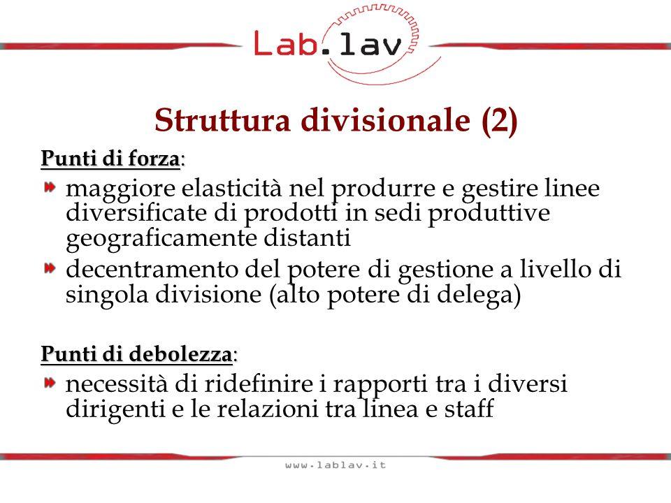 Struttura divisionale (2)