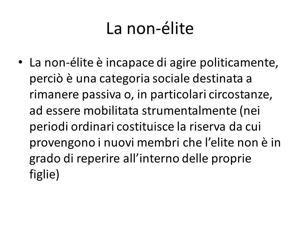 La non-élite