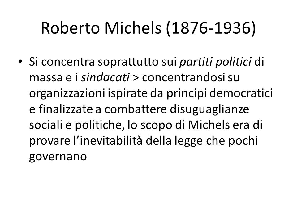 Roberto Michels (1876-1936)