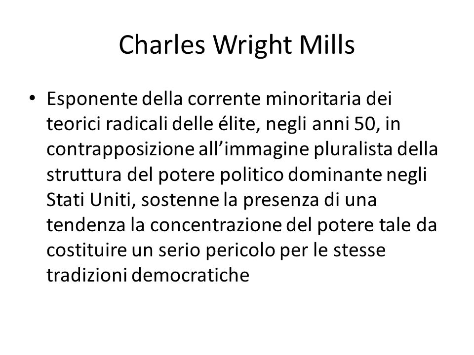 Charles Wright Mills