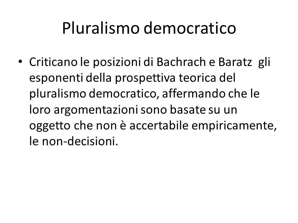 Pluralismo democratico