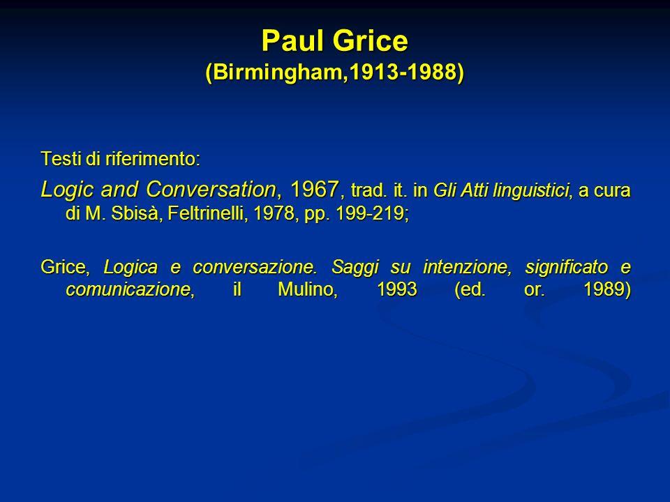 Paul Grice (Birmingham,1913-1988)