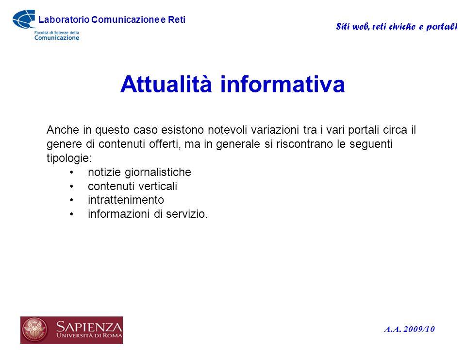 Attualità informativa