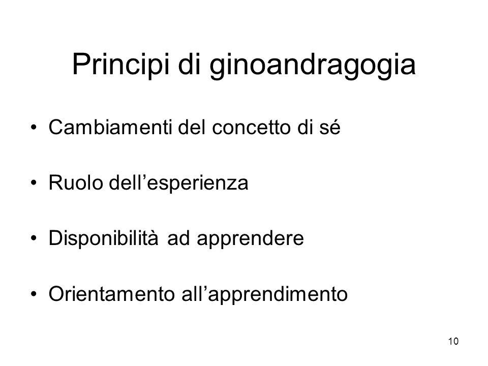 Principi di ginoandragogia