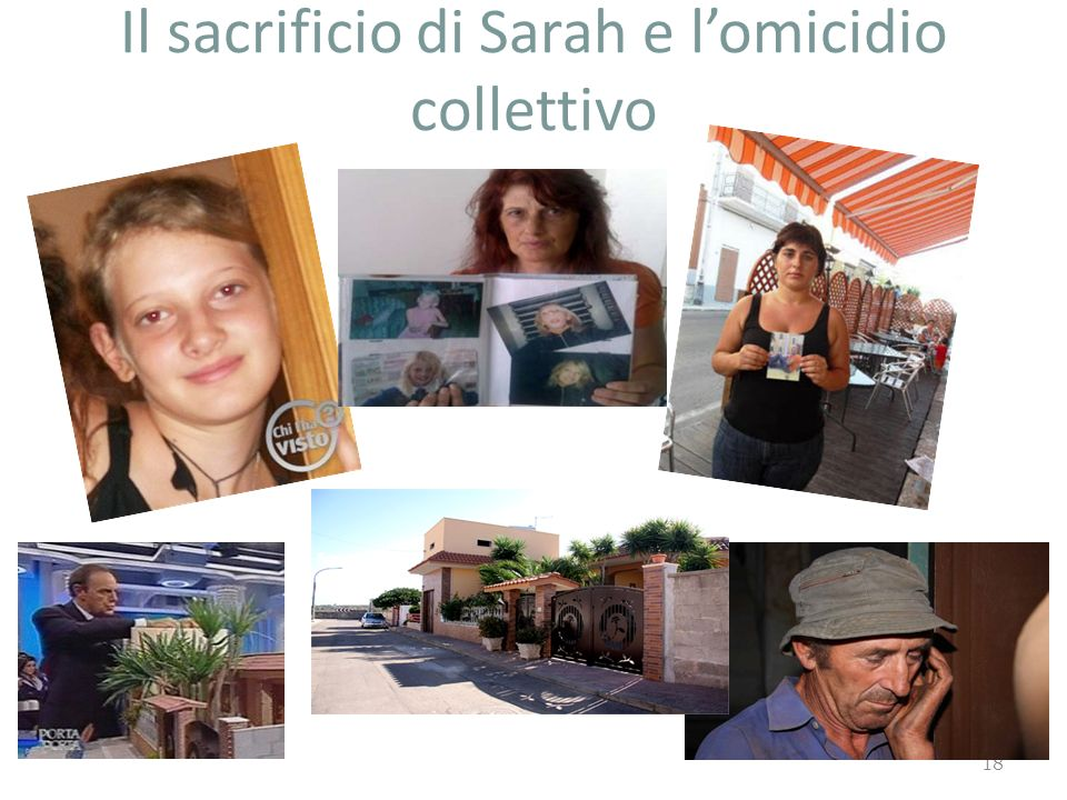 Il sacrificio di Sarah e l'omicidio collettivo
