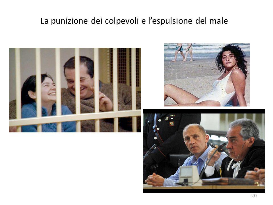 La punizione dei colpevoli e l'espulsione del male
