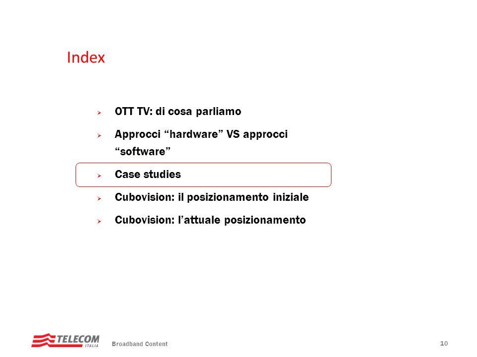 Index OTT TV: di cosa parliamo
