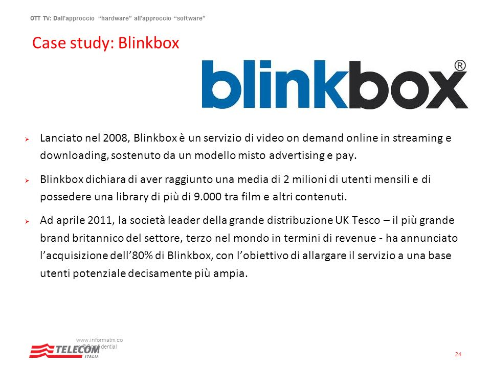 Case study: Blinkbox