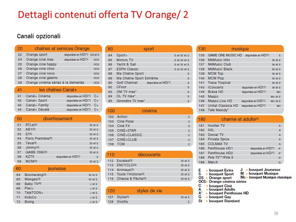 Dettagli contenuti offerta TV Orange/ 2