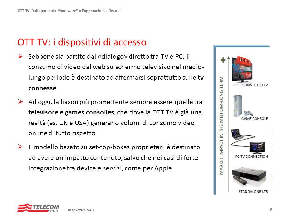 OTT TV: i dispositivi di accesso