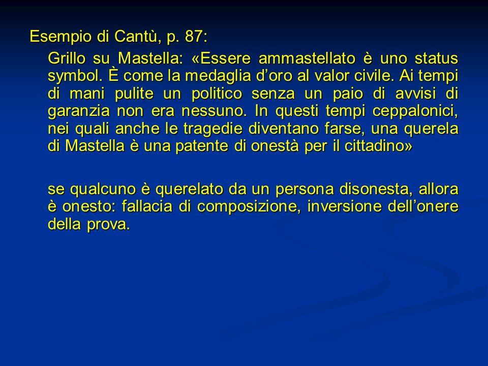 Esempio di Cantù, p. 87: