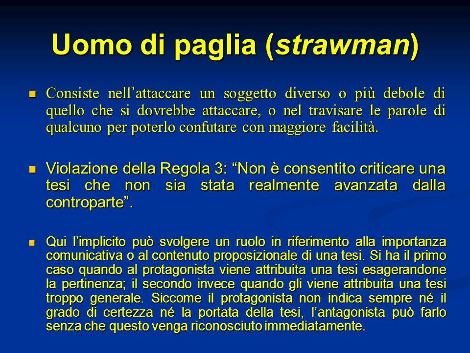 Uomo di paglia (strawman)