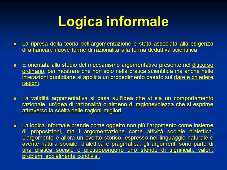 Logica informale