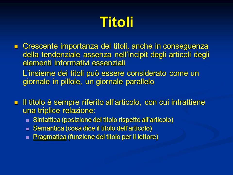 Titoli