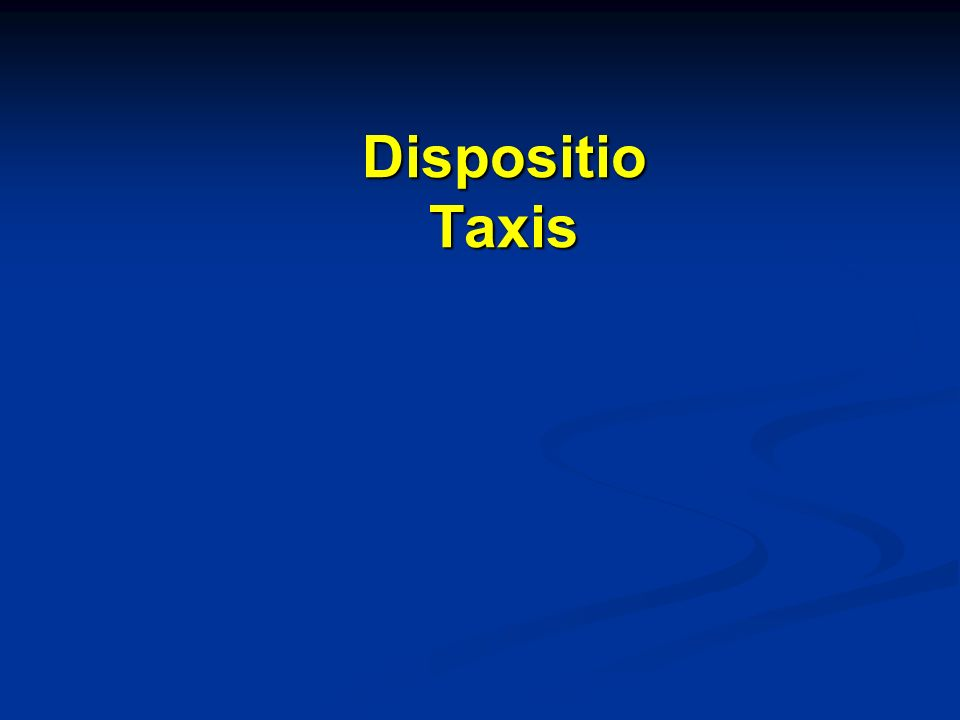 Dispositio Taxis
