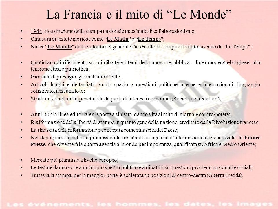 La Francia e il mito di Le Monde