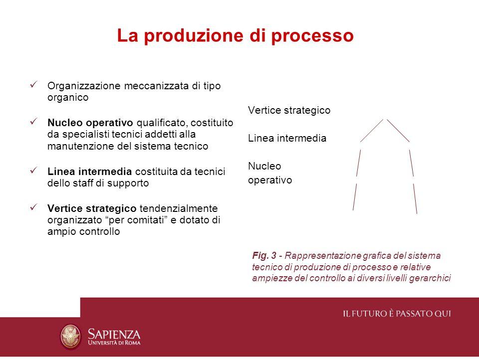 La produzione di processo