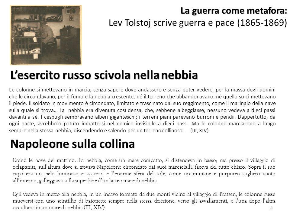 La guerra come metafora: Lev Tolstoj scrive guerra e pace (1865-1869)