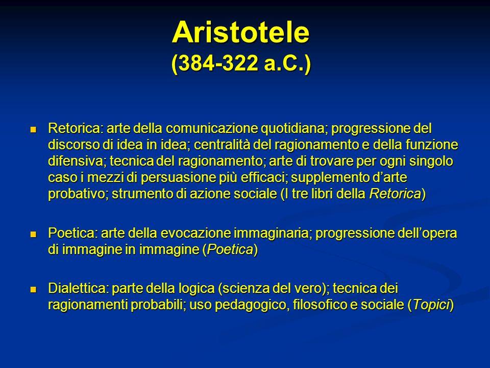Aristotele (384-322 a.C.)