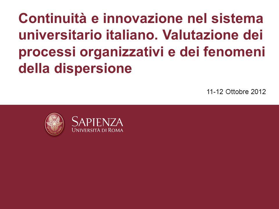 Continuità e innovazione nel sistema universitario italiano