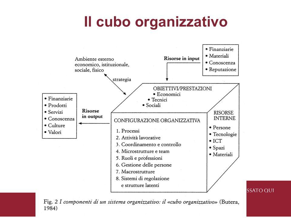 Il cubo organizzativo 16