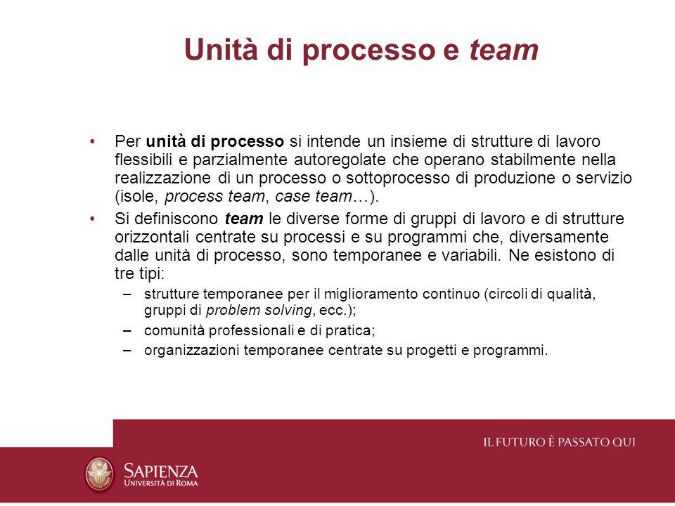 Unità di processo e team