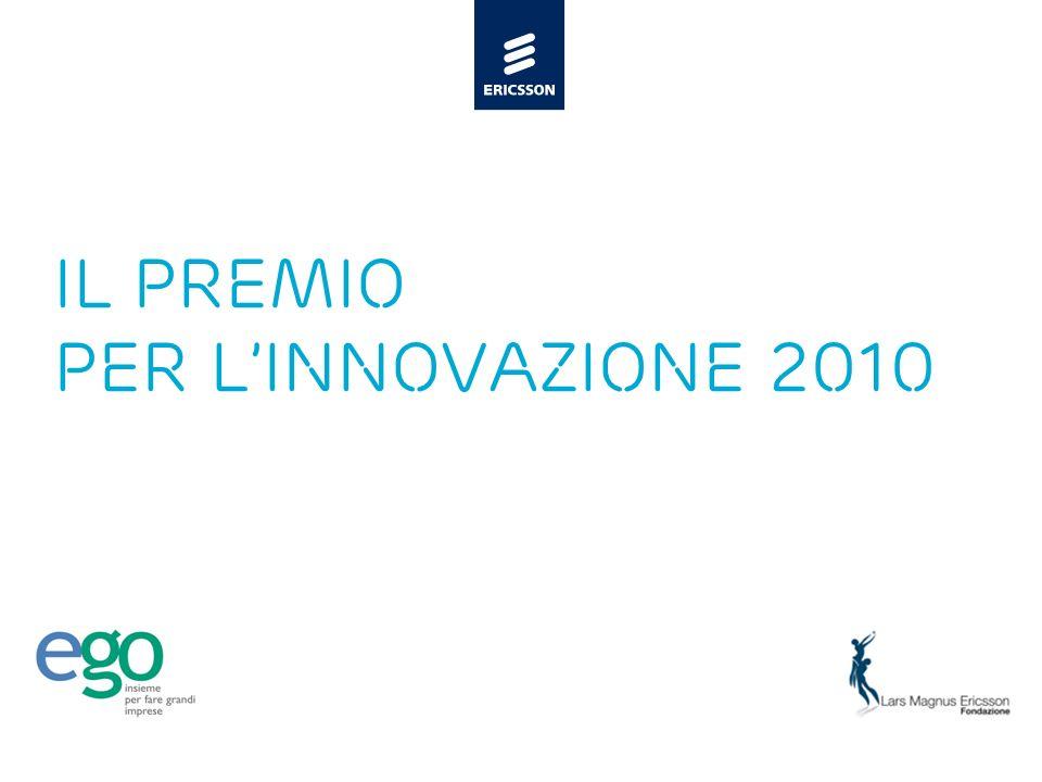 Il PREMIO PER L'INNOVAZIONE 2010
