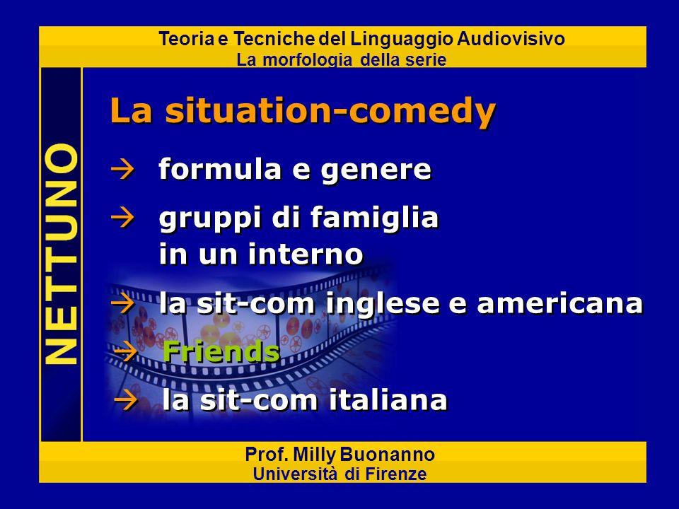 La situation-comedy formula e genere gruppi di famiglia in un interno